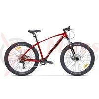 Bicicleta Pegas Drumuri Grele Pro 27.5+ rosu gema