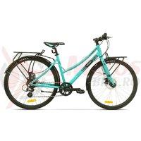 Bicicleta Pegas Hoinar 8S turcoaz mofturos