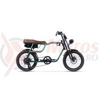 Bicicleta Pegas Partizan verde mineral
