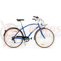 Bicicleta Pegas Popular Alu 7S albastru calator