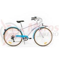 Bicicleta Pegas Popular Otel 7S roz bujor