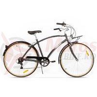 Bicicleta Pegas Popular Alu 7S gri spatial