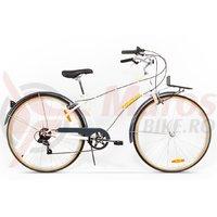 Bicicleta Pegas Popular Otel 7S alb perlat