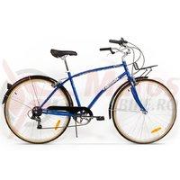 Bicicleta Pegas Popular Otel 7S albastru calator