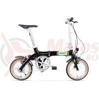 Bicicleta Pegas Practic Dinamic E-Bike negru stelar