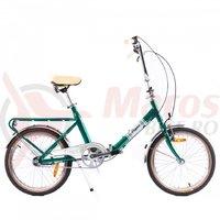 Bicicleta Pegas Practic Retro aluminiu verde neon