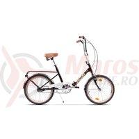 Bicicleta Pegas Practic Retro negru stelar