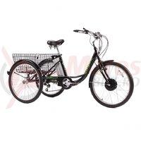 Bicicleta Pegas Senior Dinamic negru stelar