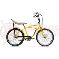 Bicicleta Pegas Strada 1 3 viteze galben stup