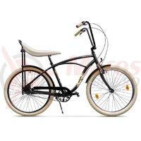 Bicicleta Pegas Strada 1 aluminiu 3S negru mat