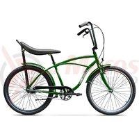 Bicicleta Pegas Strada 1 aluminiu 3S verde natur