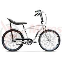 Bicicleta Pegas Strada 1 otel 3S alb perlat