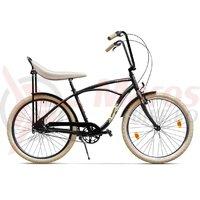 Bicicleta Pegas Strada 1 otel 3S negru mat