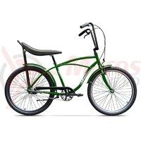 Bicicleta Pegas Strada 1 otel 3S verde natura