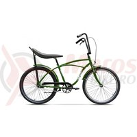 Bicicleta Pegas Strada 1 verde smarald o viteza