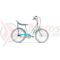 Bicicleta Pegas Strada 2 3S crem inghetata