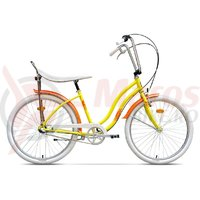 Bicicleta Pegas Strada 2 aluminiu 3S galben stup