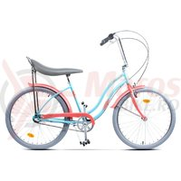Bicicleta Pegas Strada 2 aluminiu 3S turcoaz mofturos
