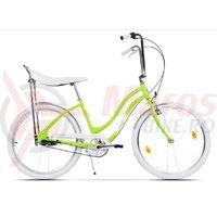 Bicicleta Pegas Strada 2 aluminiu 3S verde neon