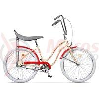 Bicicleta Pegas Strada 2 2S otel crem flori