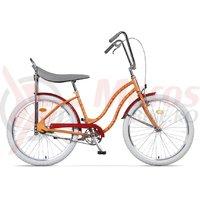 Bicicleta Pegas Strada 2 2S otel piersica caini