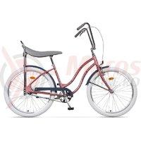 Bicicleta Pegas Strada 2 2S otel roz piersici