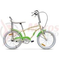 Bicicleta Pegas Strada Mini 1 viteza crem inghetata 2017