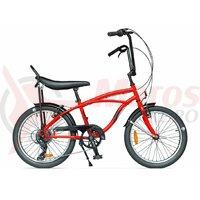 Bicicleta Pegas Strada Mini 7 viteze rosu bomboana 2017