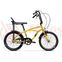 Bicicleta Pegas Strada Mini 3 viteze galben bondar 2017