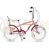 Bicicleta Pegas Strada Mini 3 viteze roz piersica 2017