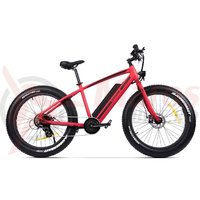 Bicicleta Pegas Suprem Dinamic E-Bike rosu mat