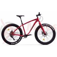 Bicicleta Pegas Suprem FX 17' rosu mat