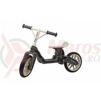 Bicicleta - Polisport Balance Bike - 12'', Fara Pedale , Gri/Crem
