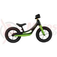 Bicicleta Rebel Kidz, cadru magneziu, negru/verde