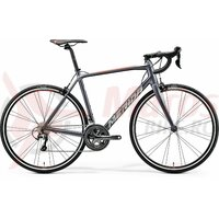 Bicicleta ROAD Merida Scultura disc 300 Silk Anthracite (Race Red)
