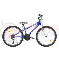 Bicicleta Robike Casper 24 albastra 2017