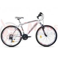 Bicicleta Robike Cougar 26 alb/negru 2017