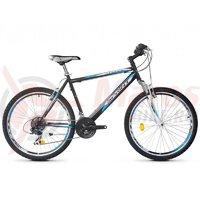 Bicicleta Robike Cougar 26 negru/alb 2017