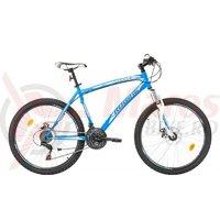 Bicicleta Robike Cougar DD 26 albastru/alb 2017