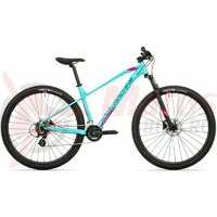 Bicicleta Rock Machine Catherine 10-29 29 Cyan/Roz