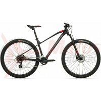Bicicleta Rock Machine Manhattan 70-29/2 29 Negru/Gri/Rosu