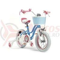 Bicicleta RoyalBaby Star Girl 14 albastra