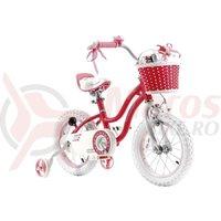 Bicicleta RoyalBaby Star Girl 14 roz