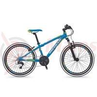 Bicicleta Shockblaze Ride 24 18v albastru lucios 2018