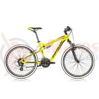 Bicicleta Shockblaze Warrior 24 FSP 2017 Green