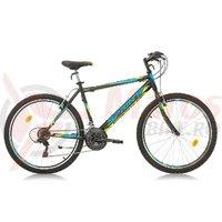 Bicicleta Sprint Active 26 negru/cyan 2017