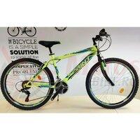 Bicicleta Sprint Active 26 furca rigida Verde neon 2021