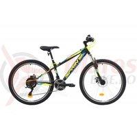 Bicicleta Sprint Active DD 26 negru/verde mat 2019