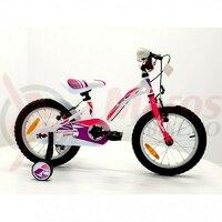 Bicicleta Sprint Alice 18 1SP 2021, alb lucios