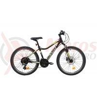 Bicicleta Sprint Apolon 24 HDB negru mat 2019